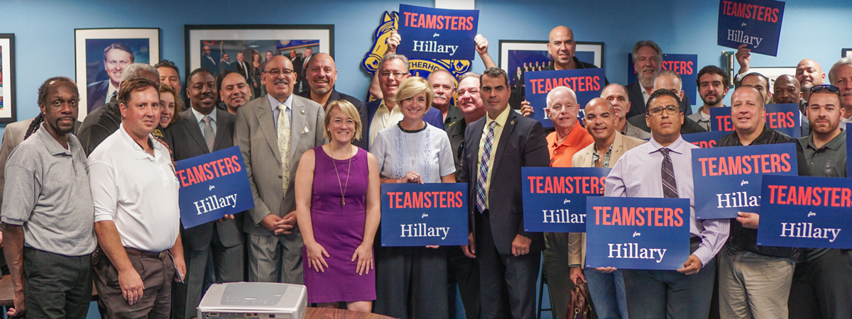 Teamsters Endorse Clinton for President