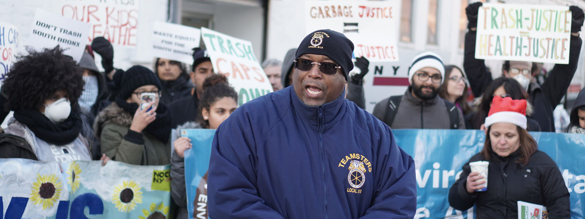 Teamsters Rally for Environmental Justice