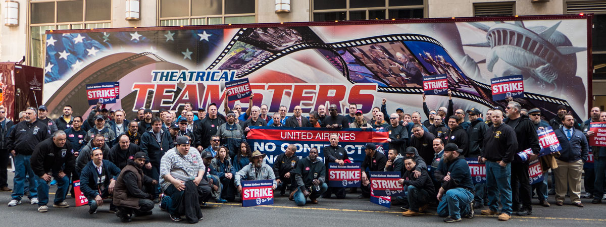 United Teamsters Prepare for Strike