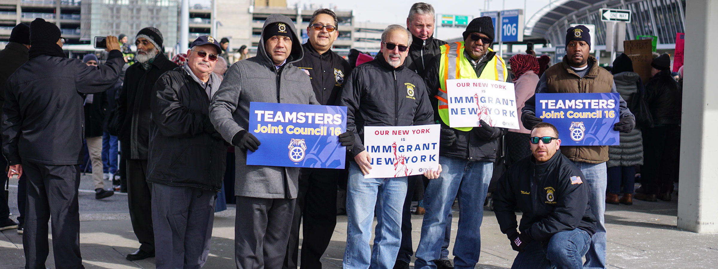 New York Teamsters Stand with Immigrants