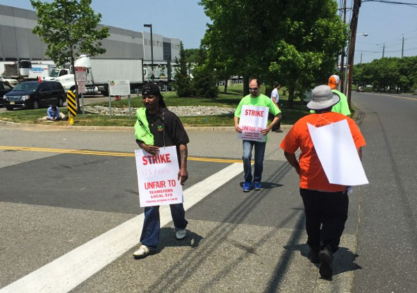 Teamsters walkout at US foods
