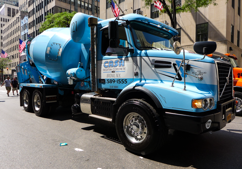 Teamster concrete drivers win contract