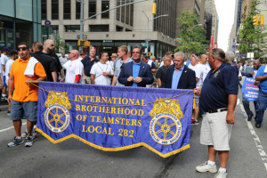 Teamsters Concrete Drivers Local 282 Labor Day Parade