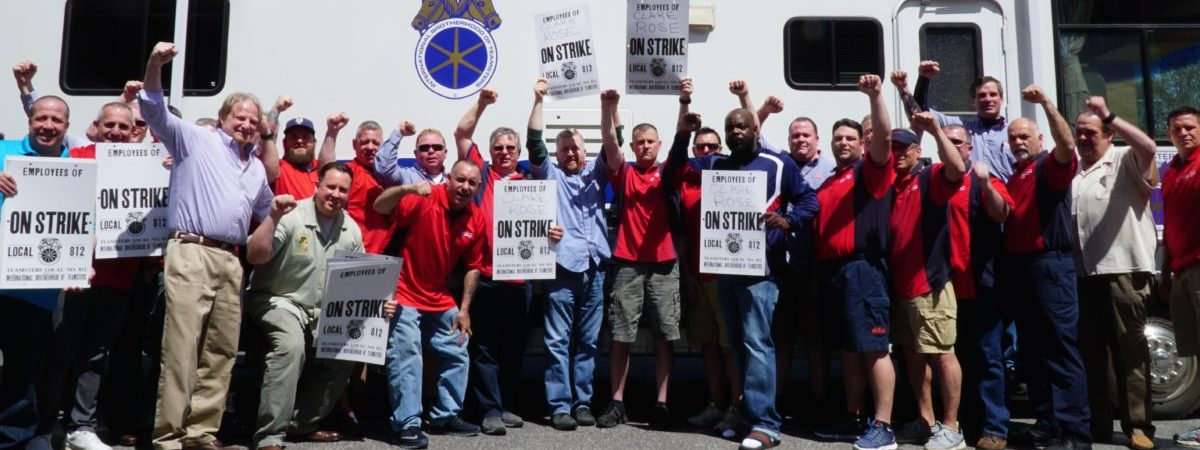 Budweiser Delivery Teamsters on Strike