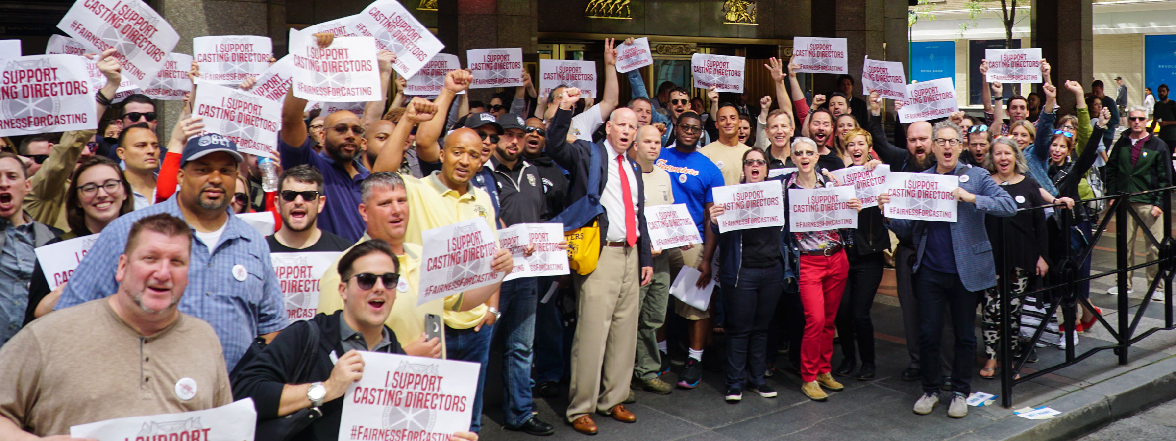 Casting Directors Rally for Union and Healthcare