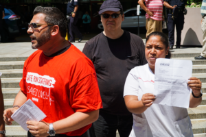 New York State Nurses Association supports Waldner's Teamsters