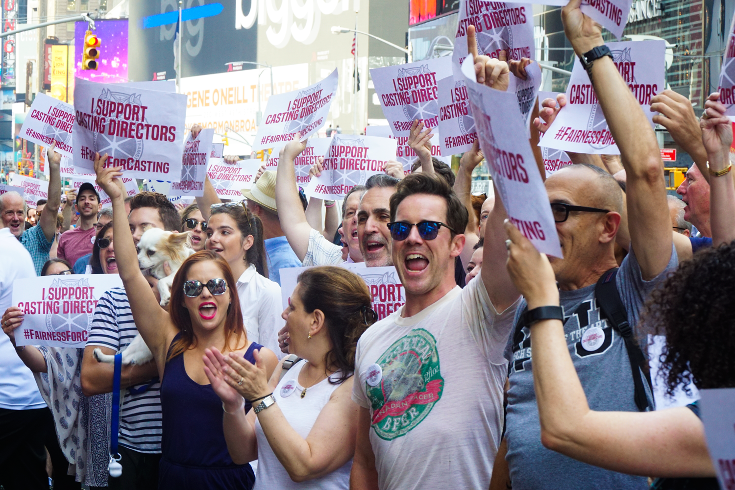 Casting directors rally for union