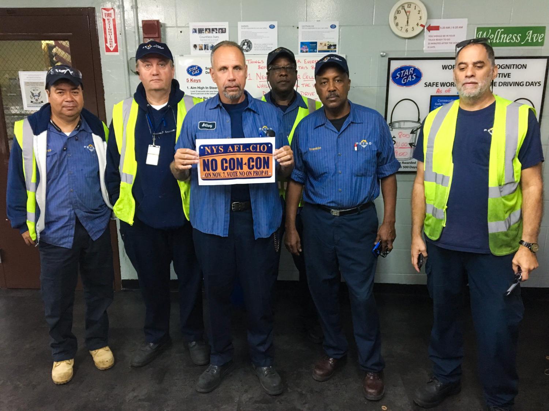 Petro oil Teamsters vote no on Con-Con