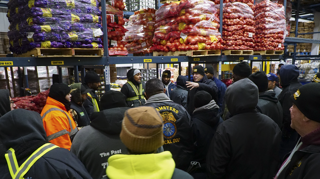 Hunts Point Market Teamsters win contract