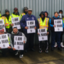 New York Private Sanitation Workers Hold Moment of Silence for MLK