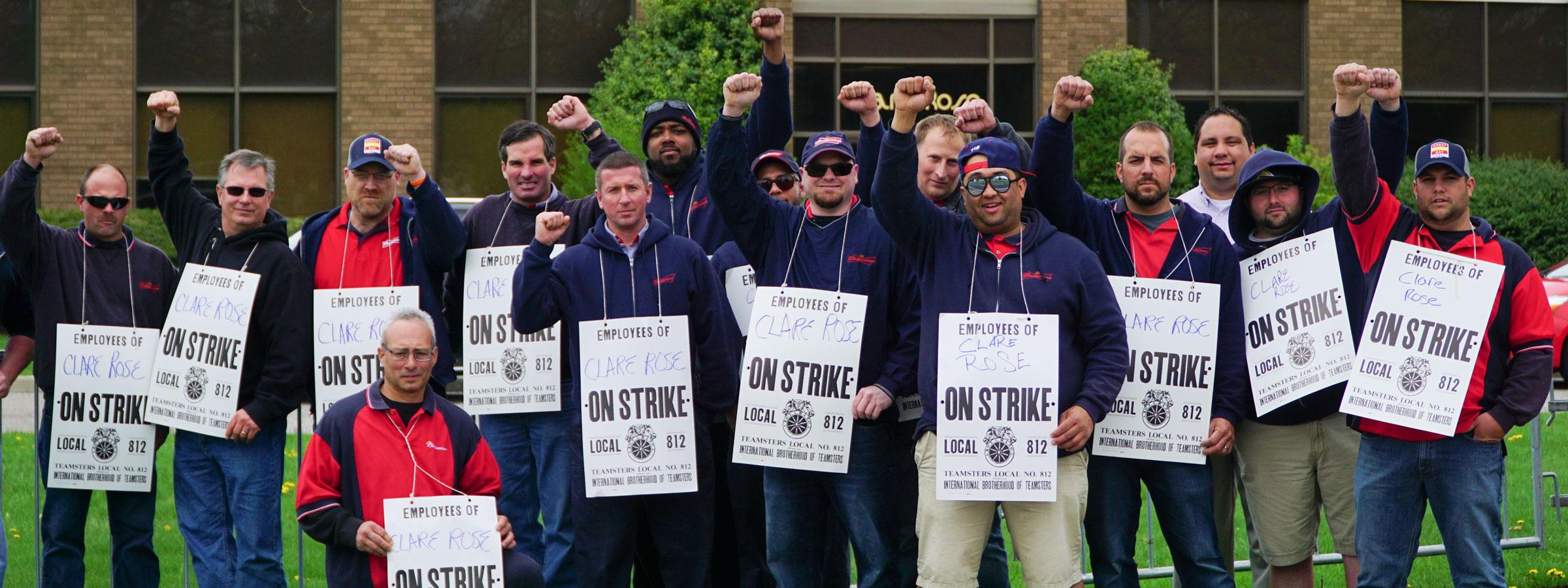 Teamsters Win Clare Rose Strike