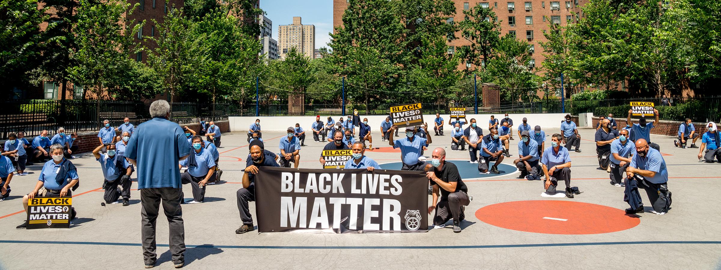 Teamsters Support Black Lives Matter