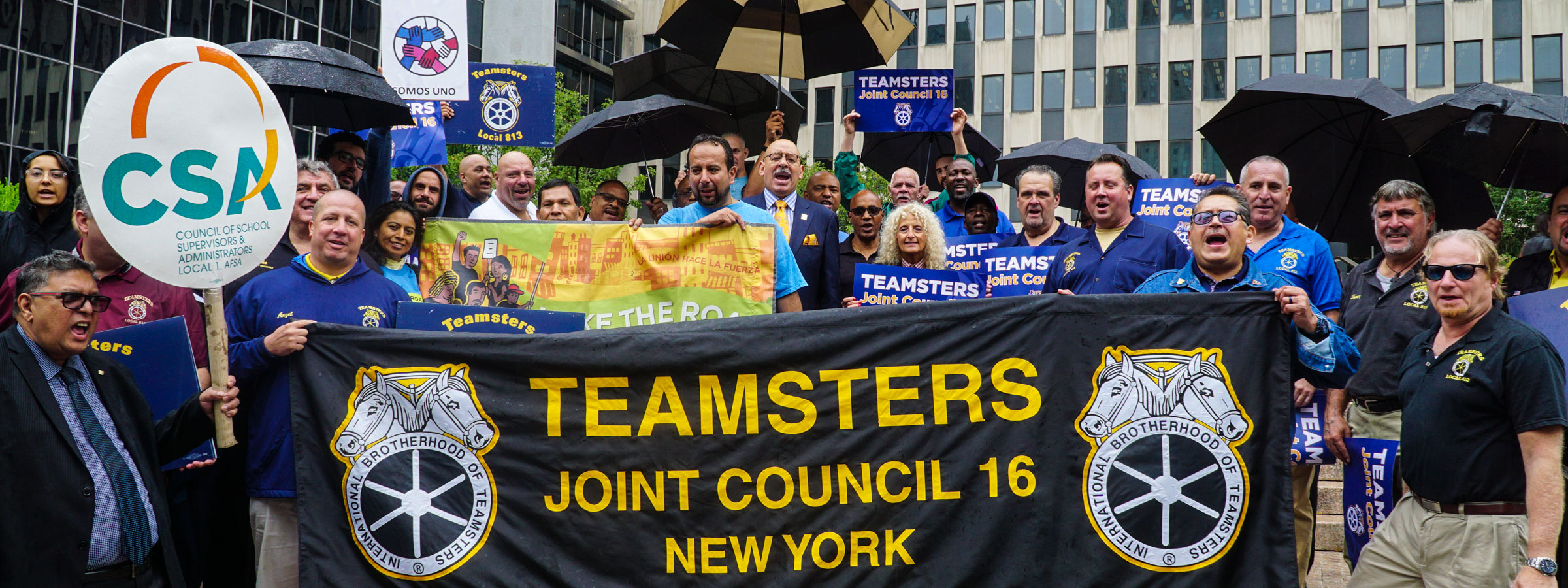 Teamsters Become Sanctuary Union