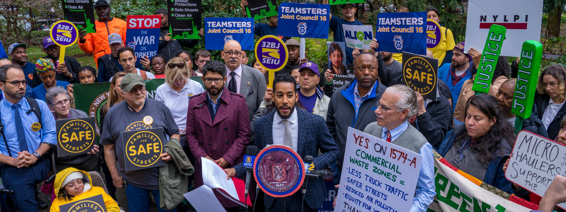 Teamsters Win Commercial Waste Law
