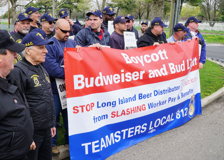 Clare Rose boycott sign