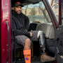 Two years after accident, Teamster delivering for the holidays