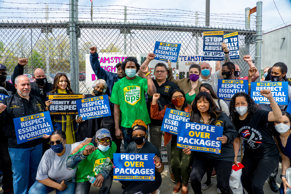 """Fired Workers to UPS: """"Put People Over Profit"""""""